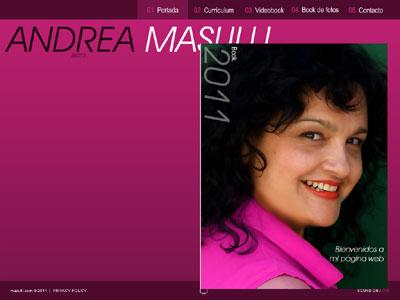 Andrea Masulli Web Oficial 2011