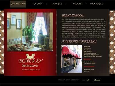 Restaurante Teherán - Web Oficial