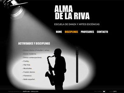 Alma de la Riva - Web Oficial